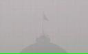 Kremlinul înghiţit de fum