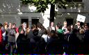 Proteste în faţa ministerului educaţiei