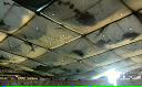 Zăpada rupe acoperişul unei arene de fotbal american